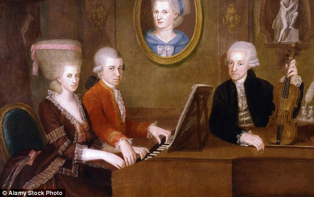 Mozart's sister was equally talented and the pointis…